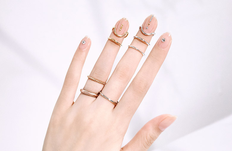 Cuticle Cuff Ring(All Nail)